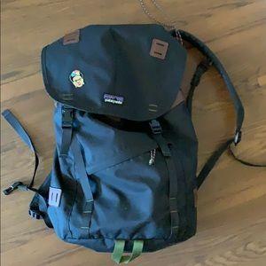 Patagonia black backpack